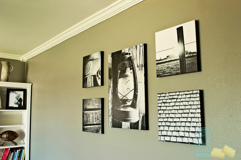 original black and white photography living room renovation