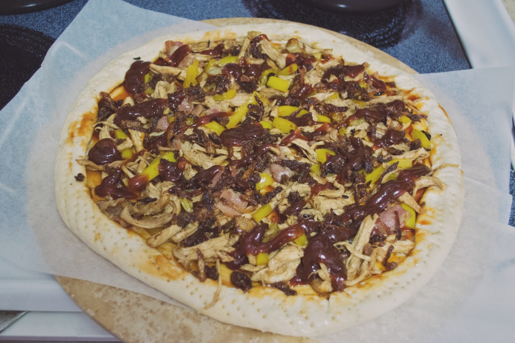 BBQ Chicken Pizza 12 [Sheer Matte]