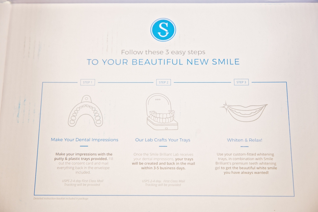 Smile Brilliant Teeth Whitening Process